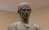 Charioteer of Delphi Delphi Museum 470 BC.,Cast in Bronze ancient Greece stock photos